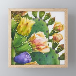 A series of Cactus Flower -1 Framed Mini Art Print