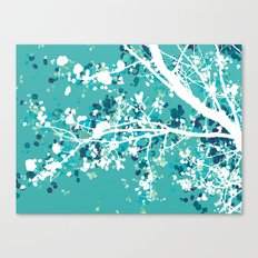 Carefree Days (mint edition) Canvas Print