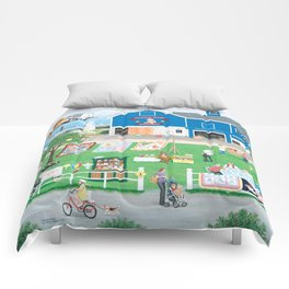 Dockside Bears Comforters