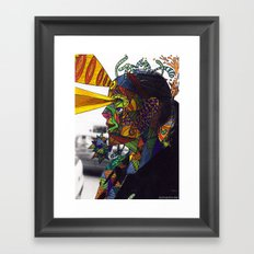 Psychoactive Bear 8 Framed Art Print