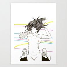Let's drink! Art Print