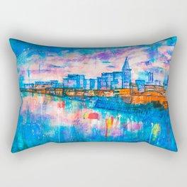 The City On Water (La Città Sull'Acqua) Rectangular Pillow