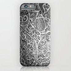 Silver Vivid  iPhone 6s Slim Case