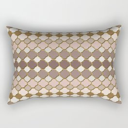 Pattern in Moroccan Style Rectangular Pillow