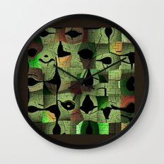 The puzzle Wall Clock