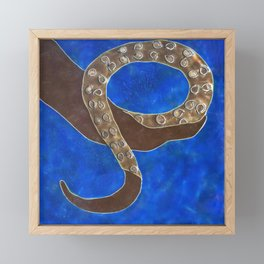 Creature of Water (the tentacle) Framed Mini Art Print
