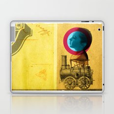 A childhood journey between reality and imagination... Laptop & iPad Skin