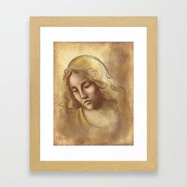 Renaissance Portrait Framed Art Print