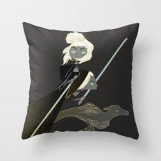 chevalier Throw Pillow