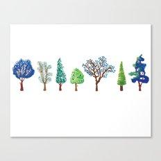 Summer trees Canvas Print