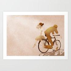 The Bike Art Print