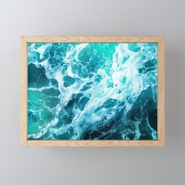 Out there in the Ocean Framed Mini Art Print