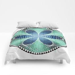 Blue Petals Comforters