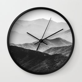 Smoky Mountain Wall Clock