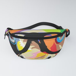 "Hipster Bison ""Buffalo"" Fanny Pack"