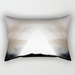 Abstract Landscape 02: New Beginnings Rectangular Pillow