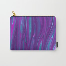 Pink, Purple, and Blue Waves 2 Carry-All Pouch