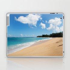 Tunnels beach Laptop & iPad Skin