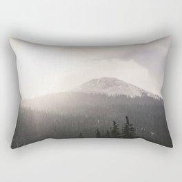 Colorado Mountain Pass Rectangular Pillow