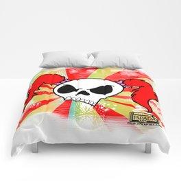Rock N Roll Brat:Color burst Comforters