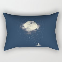 THE BOY WHO STOLE THE MOON Rectangular Pillow