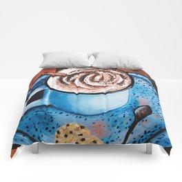 Cappucino Time Comforters