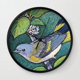 American Redstart Female Wall Clock