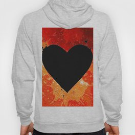 Red Hot Heart Hoody