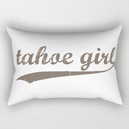 Tahoe Girl Co-ed Chocolate Rectangular Pillow