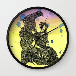 Jerry Garcia Egypt Wall Clock