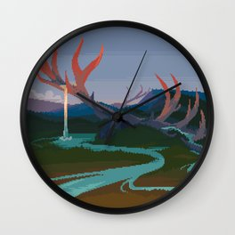 Becoming Earth Wall Clock