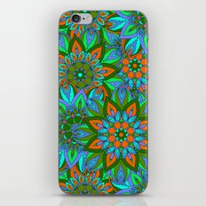Boho Floral Pattern iPhone & iPod Skin