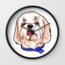 Shih Tzu Dog Puppy Doggie Wall Clock