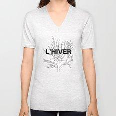 L'HIVER Unisex V-Neck