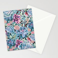Succulents - For the Memory of a Never-ending Love Stationery Cards