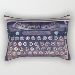 qwerty Rectangular Pillow
