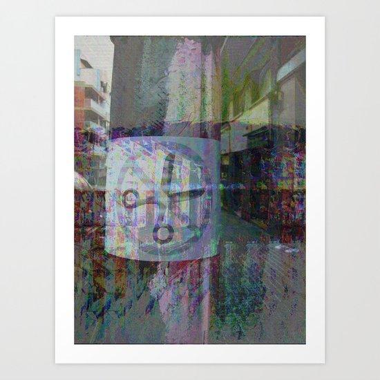 Thursday 4 October 2012: Somewhere, tender options prevail. Art Print