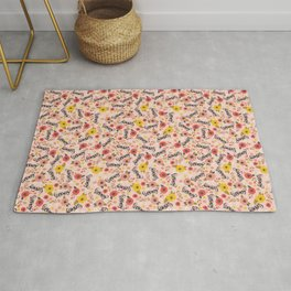 Pretty Sweary: Seriously? Pink Rug