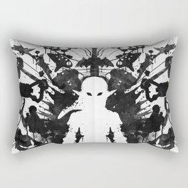 Ink Blot Link Kleptomania Geek Disorders Series Rectangular Pillow