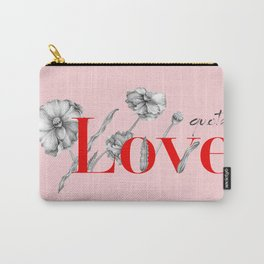Love Qoutes Carry-All Pouch