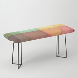 Concentric Circles Forming Equal Areas Bench
