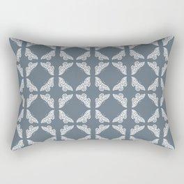 Blue Bayoux Arts and Crafts Butterflies Rectangular Pillow