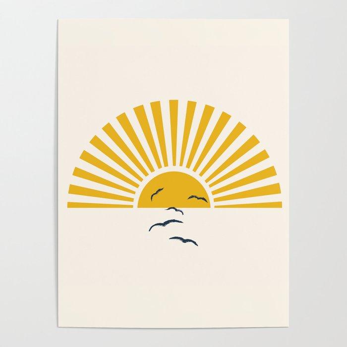 Minimalistic Summer I Poster