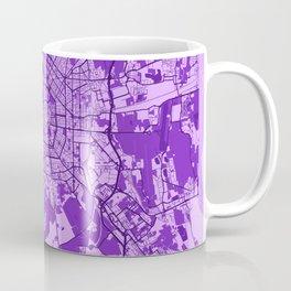 Milan - Italy Lavender City Map Coffee Mug