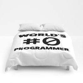 World's #0 programmer Comforters