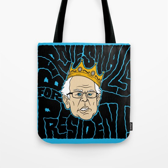 Bernie Smalls for President Tote Bag