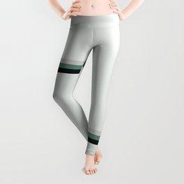 aqua || gray horizon Leggings