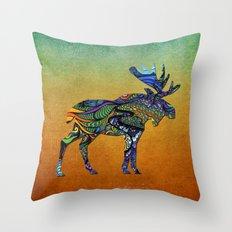 Designer Moose * Throw Pillow