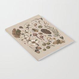 Nature Walks (Light Background) Notebook