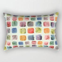 Colors in Suspension Rectangular Pillow